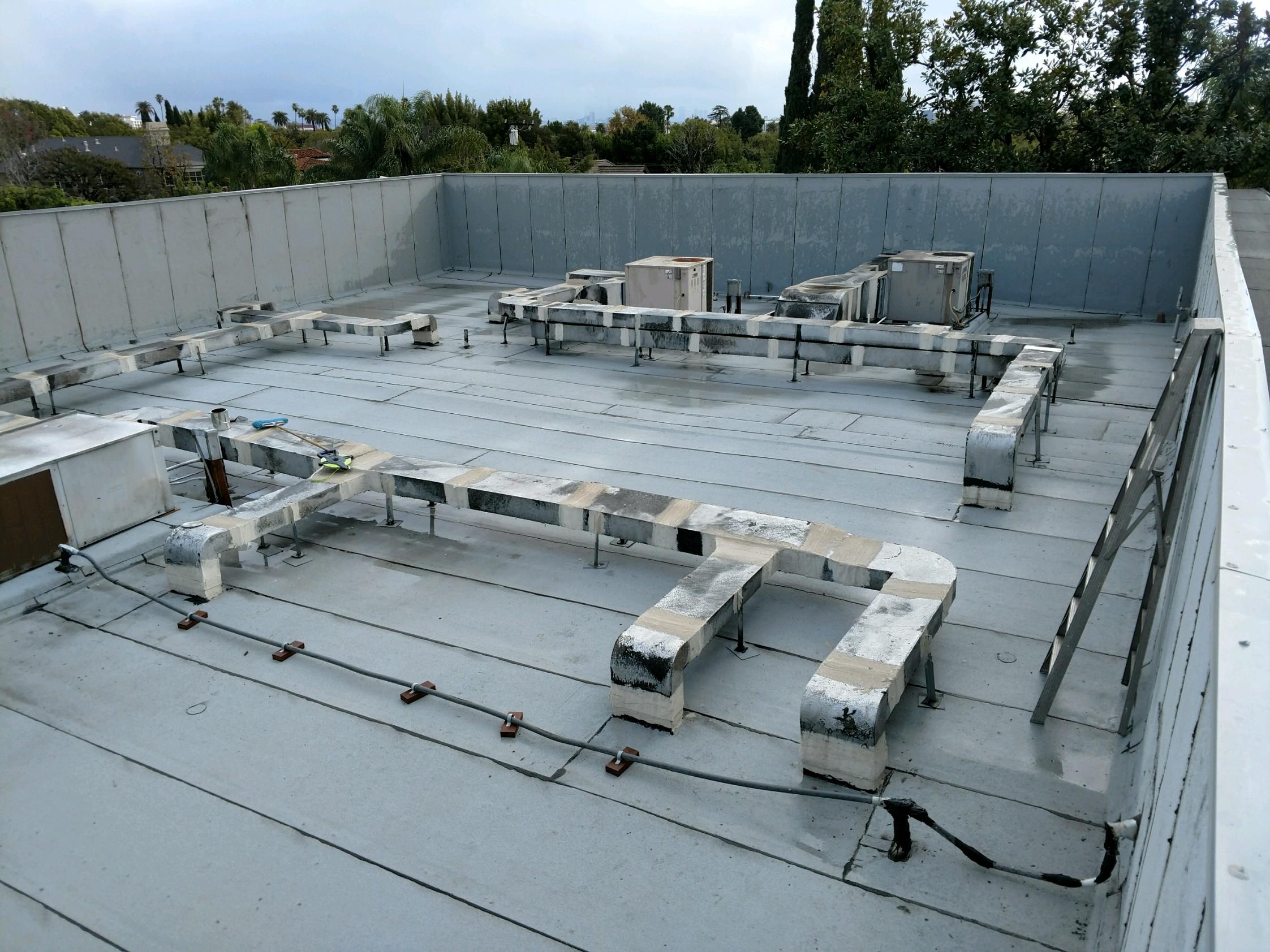 Flat Roof (Hot Mop & Modified Bitumen)